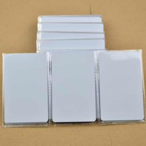 50pcs  ISO14443A NFC Card RFID Smart Tag 1k NTAG215 Chip White Card for All NFC enabled devices