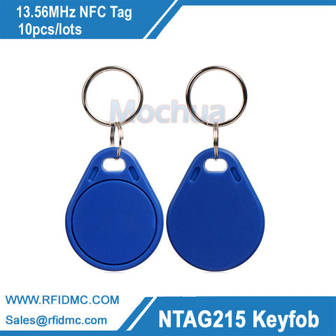 13.56MHz Ntag215 key fob NFC Tag NFC Forum type2 tag
