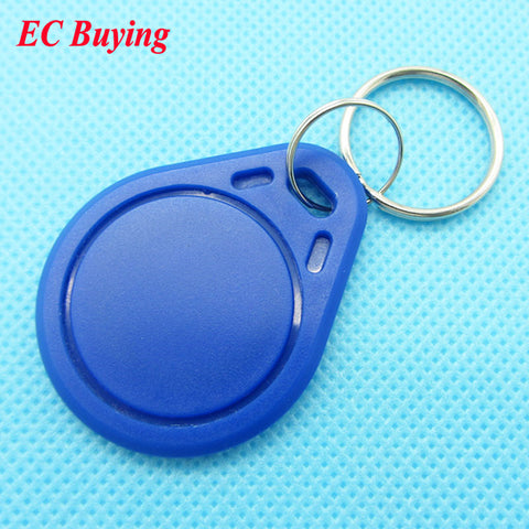 1pcs 13.56Mhz RFID Tag Token Keyfob IC Cards NFC for Access Control Card Contactless M1 Card  Button Card Sensor ABS