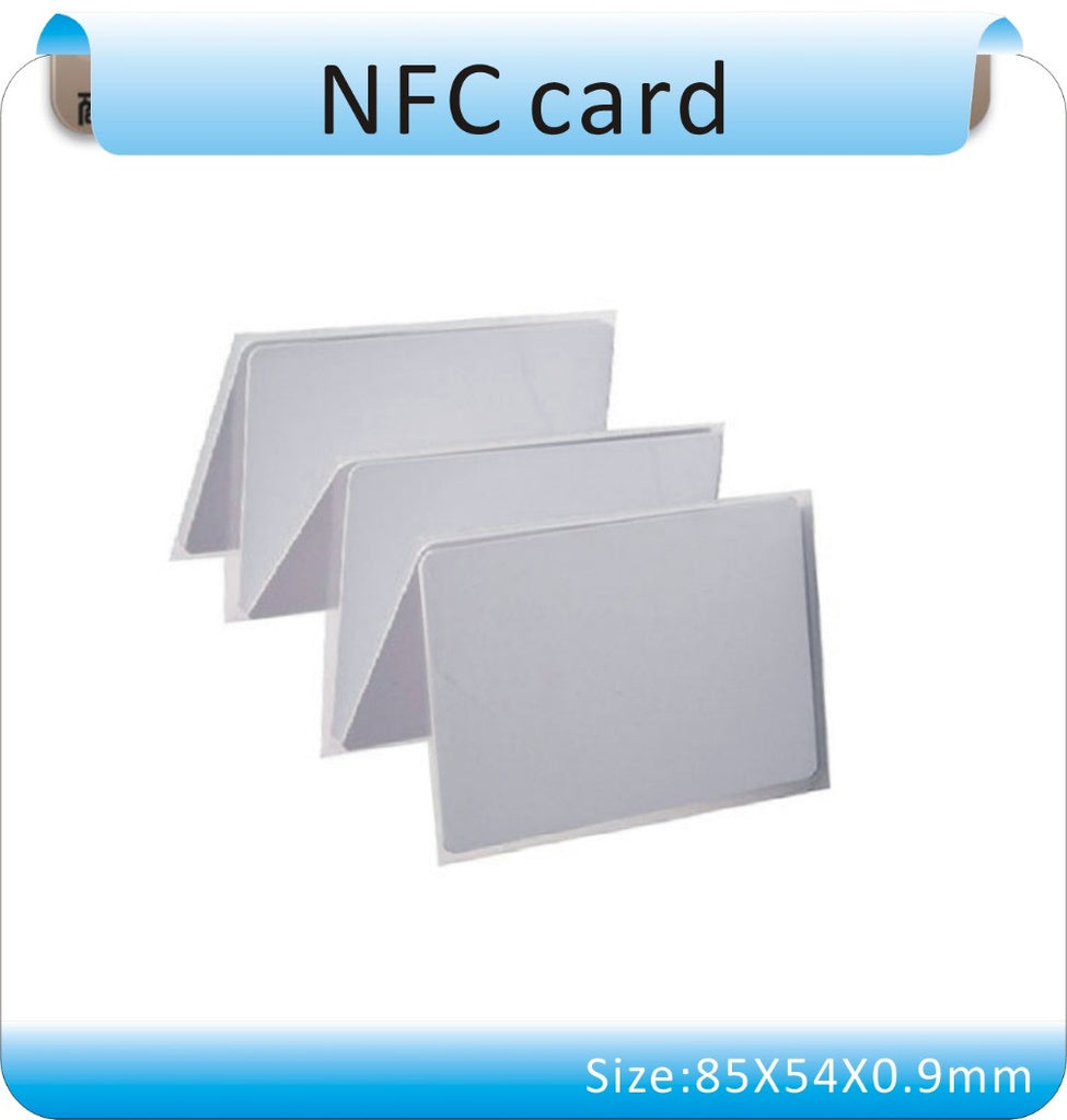 Larger Capacity 13 56MHZ NFC Tags RFID Label, Classic Ntag-203 NFC Sticker  For And Most Android NFC Phone