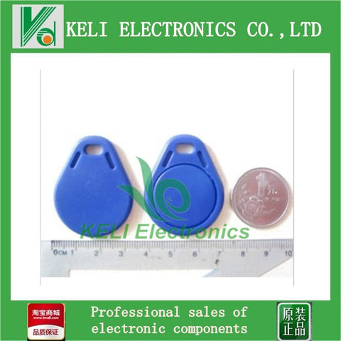 10PCS/Lot 13.56MHz M1 S50 Smart IC Key Fobs / IC Tag / NFC Tag 1K Memory Re-writable Waterproof RC522 RFID