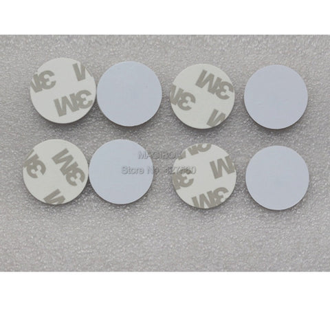 2pcs/lot 13.56MHz NTAG216 NFC tags NTAG216 self adhesive Coin