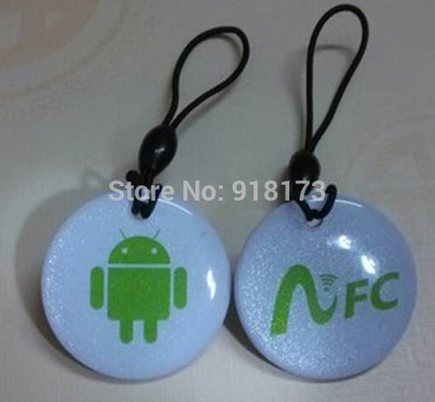 6pcs/lot NFC Tag for Lumia 1020 Android Galaxy S4 Google Nexus 4 10 Nokia BlackBerry Samsung Sony HTC LG RFID IC NDEF NTAG213