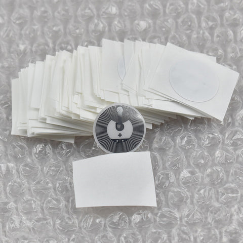 300pcs Larger Capacity NFC Tags RFID Label, Classic 1k F1108 NFC Sticker