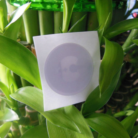 1000pieces/lot Wholesale Dia.25mm NTAG215 NFC Stickers High Performance NFC TAG With Plastic Protective film