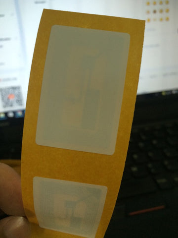 1000piece/roll NFC Sticker/Adhesive Label/Tag RFID IC 13.56MHz ISO14443A 1k S50 FM1108