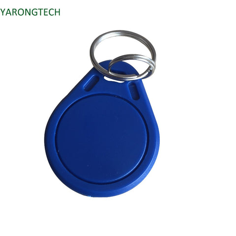100pcs/lot 13.56mhz Blue rfid key fob nfc 4K tag For Door Entry access control