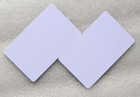 NFC Tag Ntag216 888 Bytes NFC smart card ISO14443A PVC White Cards For Android,IOS NFC Phones ,min:5pcs