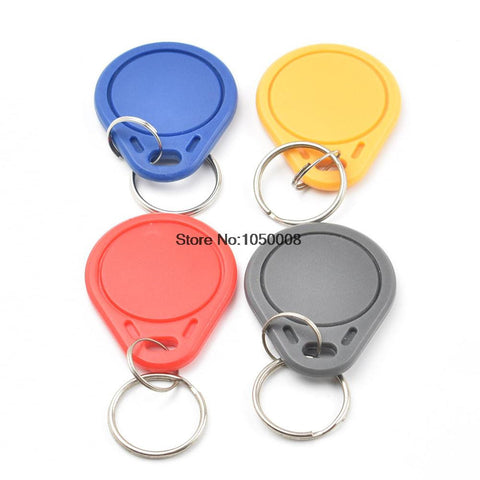 1000pcs/lot UID Changeable NFC IC tag rfid keyfob token 1k S50  13.56MHz Writable ISO14443A