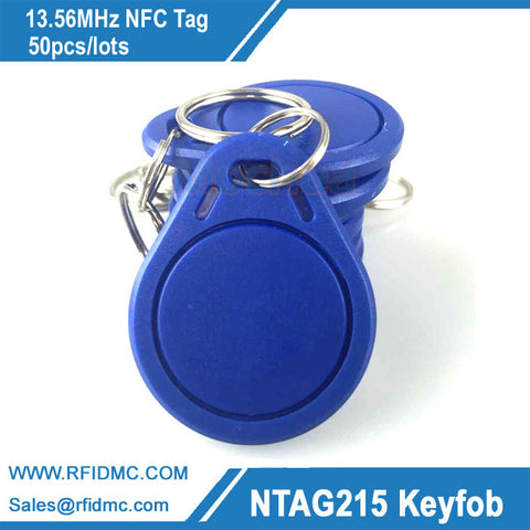 13.56MHz Ntag215 key fob NFC Tag NFC Tag For Tagmo