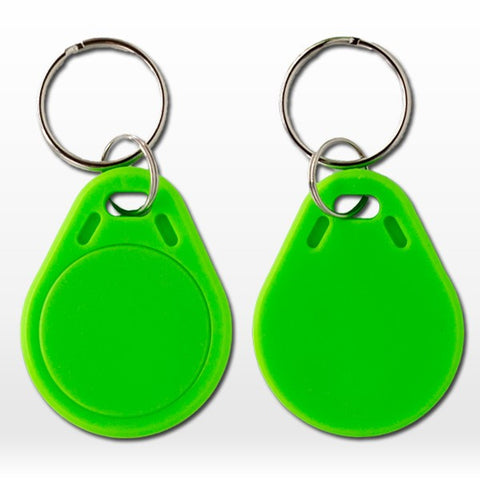 Green RFID tag (50pcs/Lot)! NTAG203 NFC Keyfobs 13.56MHZ ISO14443A 100% compatible with all nfc mobile phones
