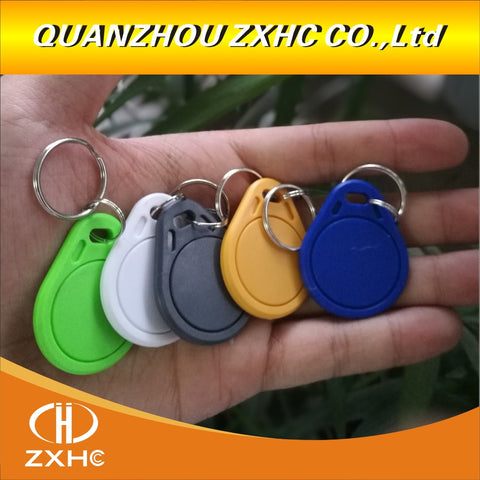 (100PCS) High Quality Ntag 215 Key Ring Tag Forum Type 2 for Game