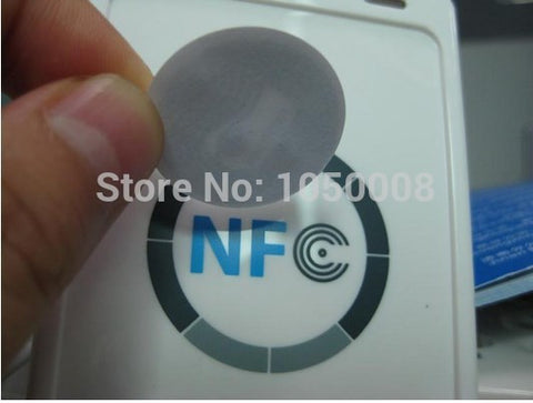 100pcs/Lot NFC Tags Sticker 13.56MHz ISO14443A Ntag 213 NFC Stickers Universal Lable Ntag213 RFID Tag for all NFC enabled phones