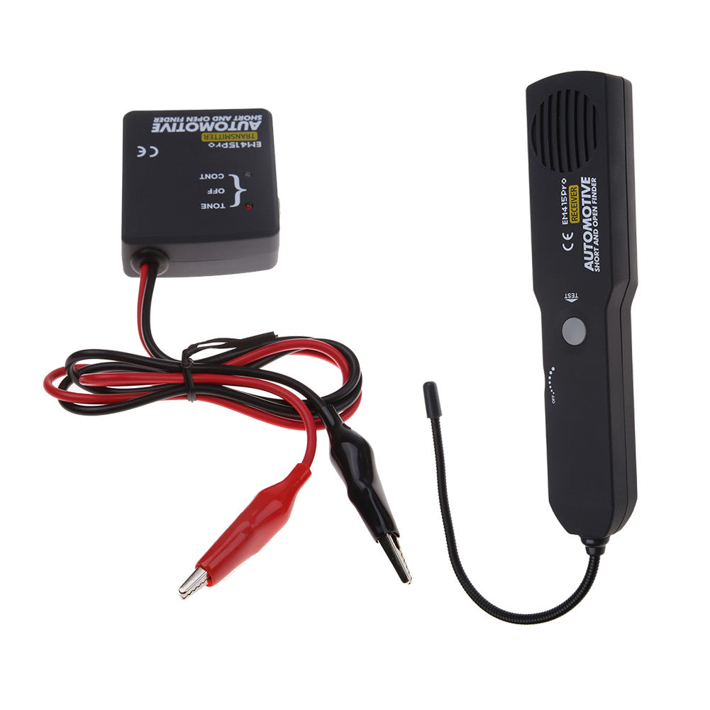 Universal EM415PRO Automotive Cable Wire Tracker Short & Open Circuit on building circuits, electronics circuits, inverter circuits, power circuits, coil circuits, battery circuits, wire circuits, three circuits, thermostat circuits, control circuits, relay circuits, computer circuits, lighting circuits, audio circuits, motor circuits, electrical circuits,