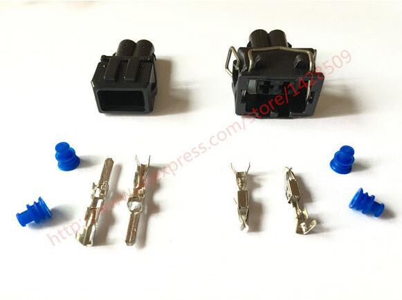 5 Set Amp Tyco 2 Pin Male Auto Waterproof Wire Harness Connector  Male Wire Harness Pin on