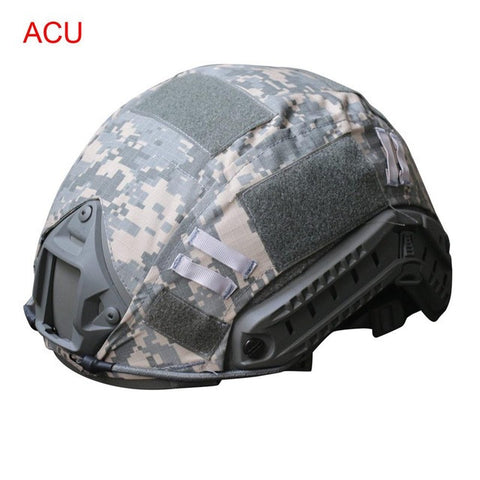 Durable Outdoor Lightweight Paintball Wargame Army Airsoft Military Tactical Helmet Cover By Canvas Material Fast Helmet