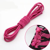 1 pair High elastic lazy shoelaces Locking Shoe Laces Elastic Shoelace Shoestrings Running/Jogging/Triathlon/Sports Fitness