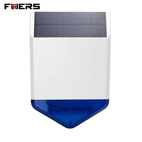 Fuers Wireless Outdoor Solar siren  For G19 G18 8218G W2 GSM Alarm SystemS security Home with flashing response loudly sound