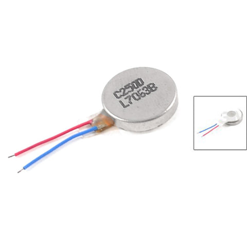 IMC Wholesale 5 X DC 3V 60mA 9000+/-2000RPM Phone Coin Flat Vibrating Vibration Motor