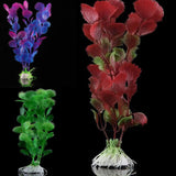Mix Colors Artificial Water Plants for Fish Tank Plastic Decoration Ornament Hot Selling
