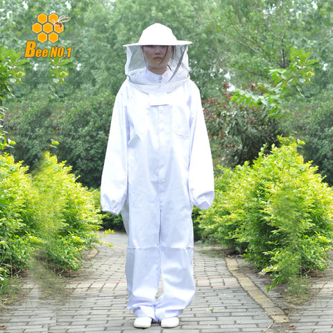 Beekeeping Jacket Veil Set Camouflage Anti-bee Protective Safety Clothing Smock Equipment Supplies Bee Keeping Suit Coverallls