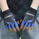 C3 Outdoor Sports Bicycle Cycling Biking Hiking Gel Half Finger Fingerless Gloves Super Abrasion Palm Material Wholesales&Retail