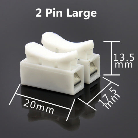 10Pcs Connector Blocks Home Improvement Electrical Equipment Supplies Transmission Par Terminals Wiring Accessories Cable Glands
