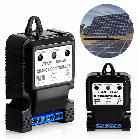Auto Solar Panel Charge Controller Regulator Solar Controllers Battery Charger Regulator 6V 12V 10A PWM Mayitr Home Improvement
