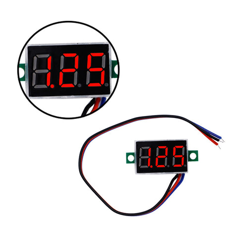 0.36'' Digital  RED LED  Volmeter Volt Meter Gauge Voltage  Home Use Tool  Panel Meter DC0-100V 40%off