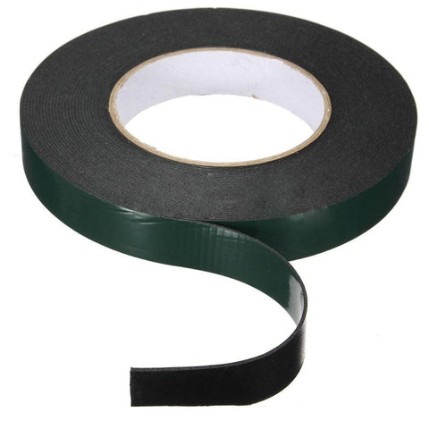 Nice 1 pc 10m Length Strong Adhesive Waterproof Double Sided Tape High quality 20mm width Foam Green Tape Trim home Car