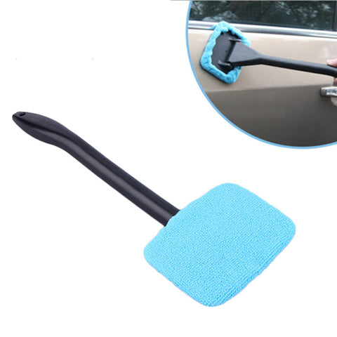 Cimiva Windshield Easy Cleaner - Microfiber Auto Window Cleaner Clean Hard-To-Reach Windows On Your Car Or Home