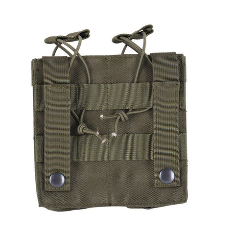 AK AR M4 FAMAS Mag Pouch Tactical MOLLE Triple Open-Top Magazine Pouch FAST Airsoft Military Paintball Equipment