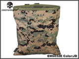 EMERSONGEAR Magazine Pouch Recycling Bags Sundries Tactical 1000D Nylon Drop Pouch Airsoft Military EM6032