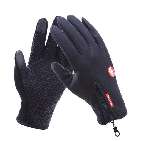 Windproof Outdoor Sports Skiing Touch Screen Glove Cycling Bicycle Gloves Mountaineering Military Motorcycle Racing Gloves S-XL