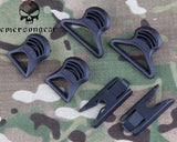 EMERSON FAST Helmet Goggle Swivel Clips Army Military Equipment Tactical Paintball Helmet Accessory Black FG Dark Earth EM8620 #