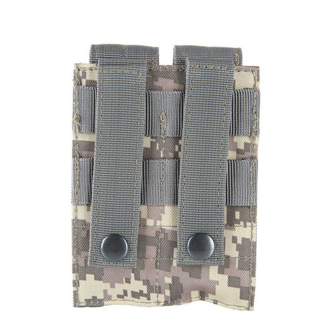 600D 9MM  Molle Nylon Tactical Dual Double Pistol Mag Magazine Pouch Close Holster For Outdoor Combat Military Hunting 5 Color