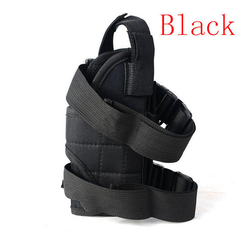 One Size Fits All Right Gun holster Military Tactical Hunting Gun Thigh Leg holster Pouch for Glock 17 19 23 32 36 Beretta m9 92