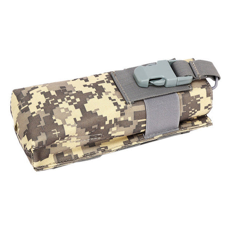 Outdoor Tactical Sports Hunting Military Airsoft Paintball Molle Radio Talkie Water Bottle Canteen Bag Pouch