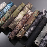 Outdoor Hunting Camouflage Cloth Telescopic Self - Viscoelasticity Waterproof Wrap Durable Tacyical Military Accessories J2 V2