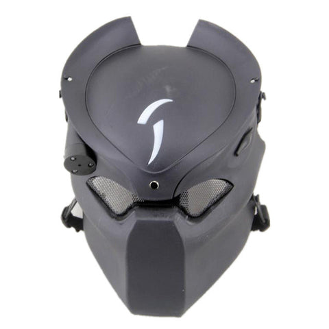 tactical skull face mask military Field Alien vs Predator mask lone wolf mask field CS Infrared Lamp for hunting paintball