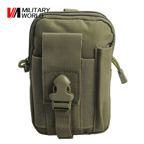 Tactical Molle Belt Waist Bag Utility Pouch Military Outdoor Climbing Pocket Phone Case Pouches Pack For Iphone 7 Hunting Bags