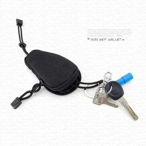 Outdoor Sport Mini Bag Money Car Key Wallet Pouch Tactical Military Purse Pocket Chains Case Holder J2 V2
