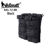 Tactical Airsoft Molle Magazine Pouch 1000D Tactical Vest Bag for Military Outdoor Hunting Hiking Paintball Accessories Pocket