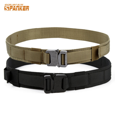 1.5 Inch Shooter Belt Military Tactical Shooting Airsoftsports Paintball Wargame Hunting Army Belts