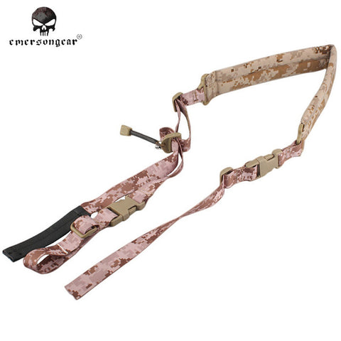 EMERSON Tactical Quick Adjustable Padded 2 Point Sling Airsoft Gear Military Gun Belt Hunting Paintball Equipment EM8883 AOR1 ^