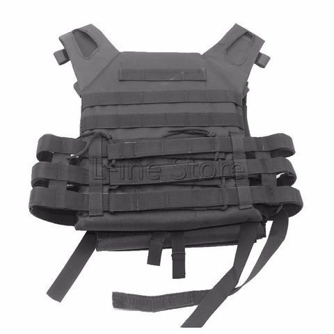 Tactical Combat Vest JPC Outdoor Hunting Wargame Paintball Protective Plate Carrier Waistcoat Airsoft Vest