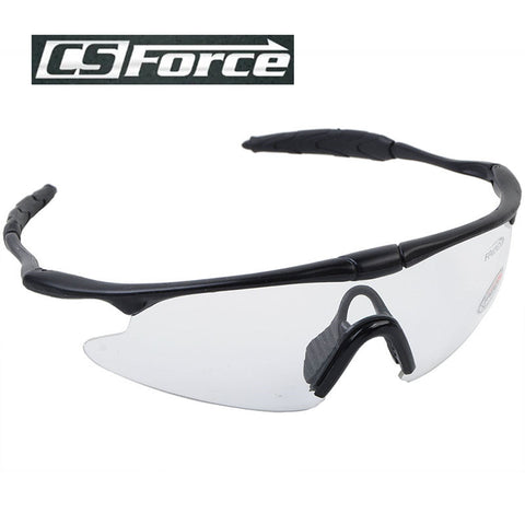CS Force Bicycle Bike Cycling Glasses Men Women Paintball Airsoft Outdoor Sports Windproof Sunglasses Military Tactics Goggles