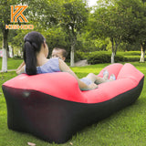 210T Ripstop Portable Inflatable laybag Air sofa for indoor or outdoor waterproof Hangout lazy bag Inflatable Sleeping Lazy bag