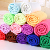 140*70cm Microfiber Towel Quck Drying Super Absorbent Large Bath towels Adult Sport Swim Cleaning Supplies Beach Bathroom Towel