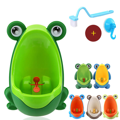 Baby Kid Infant Toddler Toilet Frog Urinal-boy Stand Vertical Pinico Menino Potty Training Children Pee Portable Toilet Potty